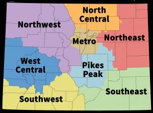CDE Region Map