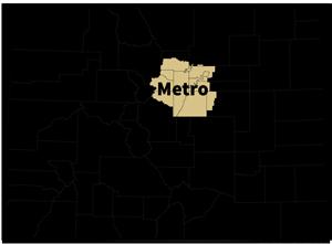 CDE Regions: Metro