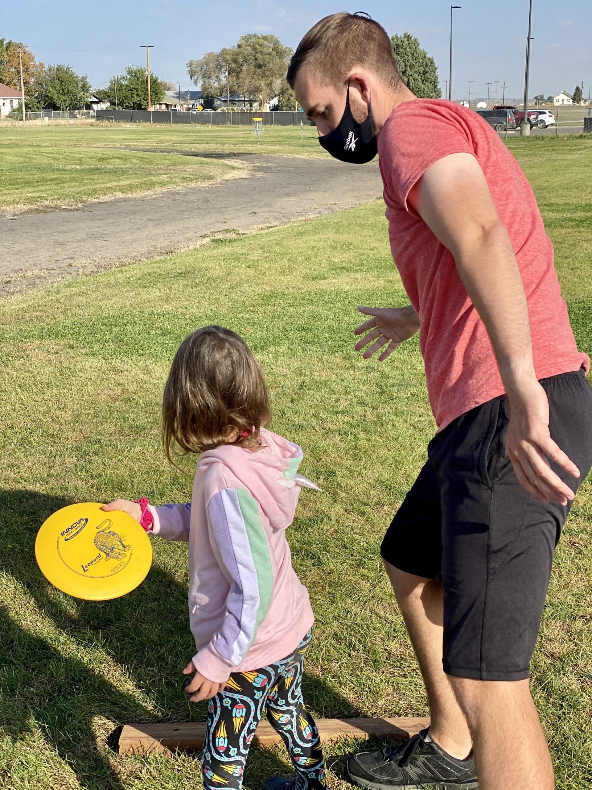 Creating a Healthy School Community – Disc Golf Photo 4